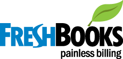 logo for the invoicing software freshbooks